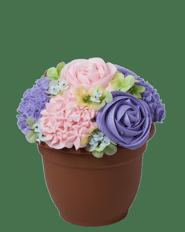 Baked Bouquet-Cupcake Bouquet-The Queen Pot